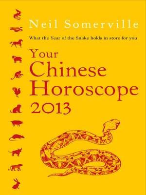 cover image of Your Chinese Horoscope 2013