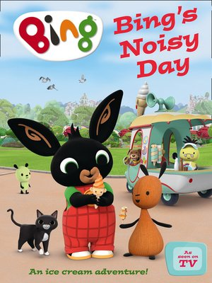 cover image of Bing's Noisy Day