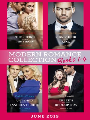 cover image of Modern Romance June 2019 Books 1-4