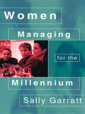 cover image of Women Managing for the Millennium