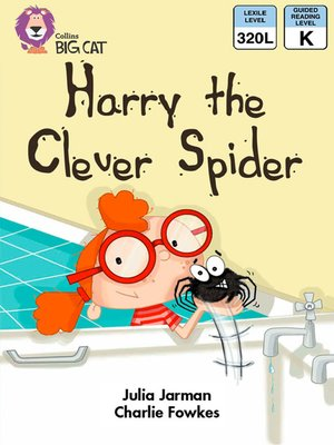 cover image of Collins Big Cat – Harry the Clever Spider
