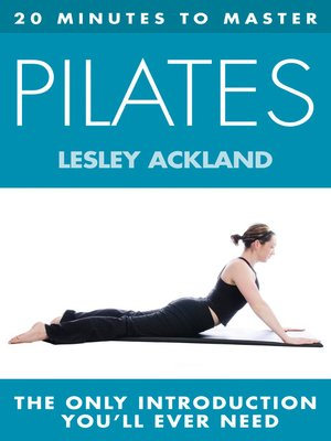 cover image of 20 Minutes to Master ... Pilates