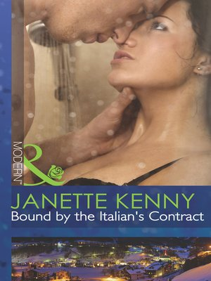 cover image of Bound by the Italian's Contract