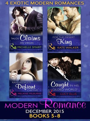 cover image of Modern Romance December 2015, Books 5-8