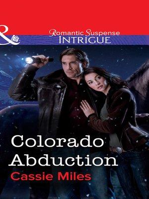 cover image of Colorado Abduction