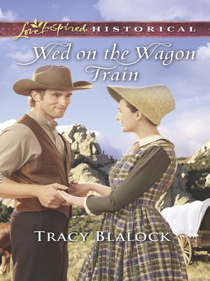 cover image of Wed On the Wagon Train