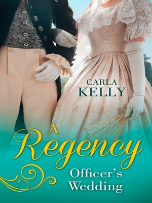 cover image of A Regency Officer's Wedding