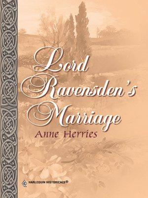 cover image of Lord Ravensden's Marriage