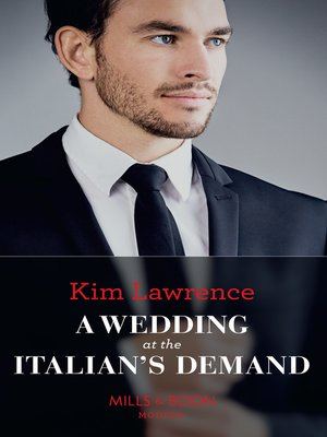cover image of A Wedding At the Italian's Demand
