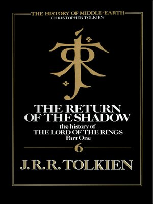 cover image of The Return of the Shadow
