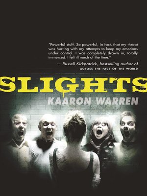 cover image of Slights