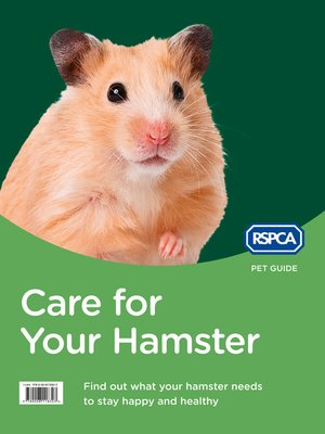 cover image of Care for Your Hamster (RSPCA Pet Guide)