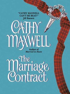 Cathy maxwell overdrive rakuten overdrive ebooks audiobooks the marriage contract fandeluxe PDF
