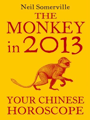 cover image of The Monkey in 2013