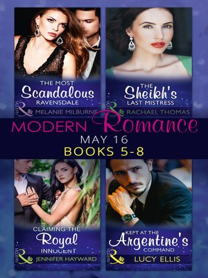 cover image of Modern Romance May 2016 Books 5-8