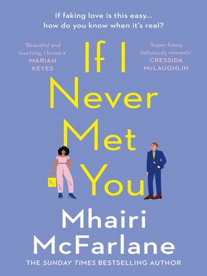 cover image of If I Never Met You