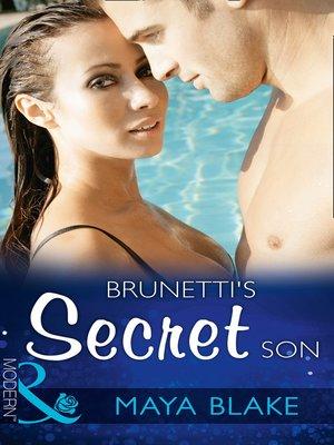 cover image of Brunetti's Secret Son