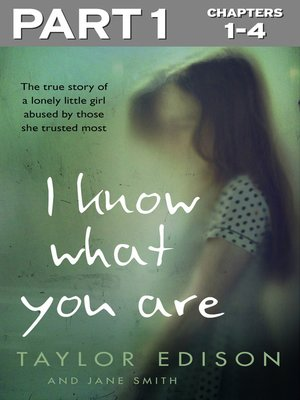 cover image of I Know What You Are, Part 1 of 3