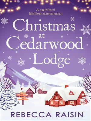 cover image of Christmas At Cedarwood Lodge
