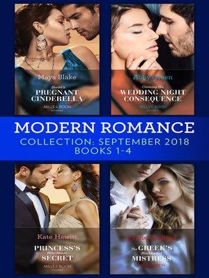 cover image of Modern Romance September 2018 Books 1-4