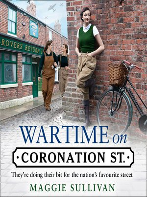 cover image of Wartime on Coronation Street