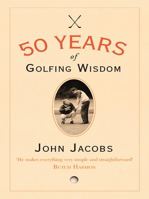 cover image of 50 Years of Golfing Wisdom
