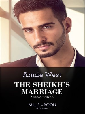 cover image of The Sheikh's Marriage Proclamation