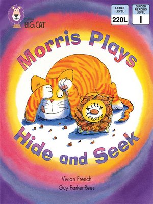 cover image of Collins Big Cat – Morris Plays Hide and Seek