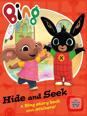 cover image of Bing Hide and Seek
