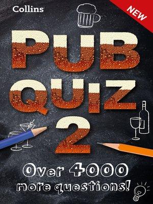 cover image of Collins Pub Quiz 2