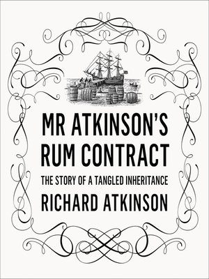 cover image of Mr Atkinson's Rum Contract