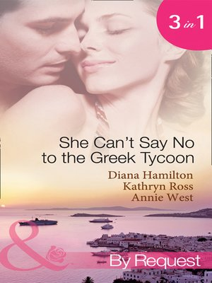 cover image of She Can't Say No to the Greek Tycoon