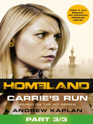 cover image of Carrie's Run, Part 3 of 3