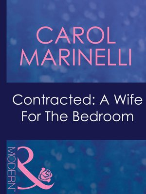 cover image of Contracted: a Wife for the Bedroom