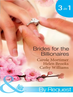 cover image of Brides for the Billionaires