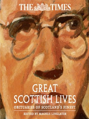 cover image of The Times Great Scottish Lives
