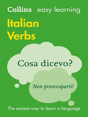 cover image of Easy Learning Italian Verbs