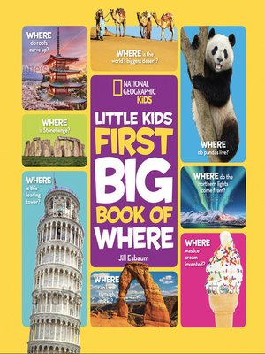 cover image of National Geographic Little Kids First Big Book of Where