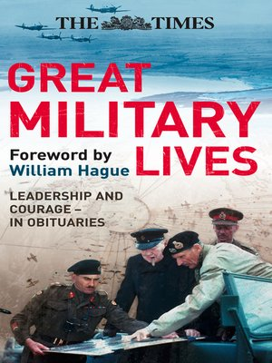 cover image of The Times Great Military Lives