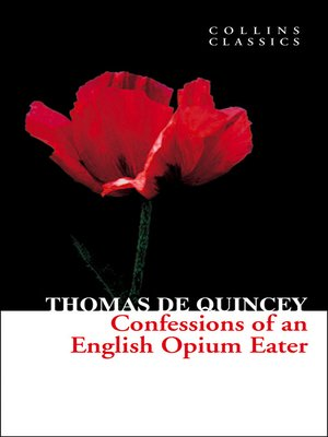 cover image of Confessions of an English Opium Eater