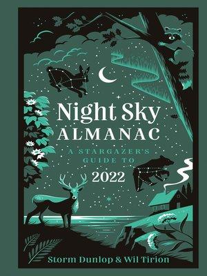 cover image of Night Sky Almanac 2022