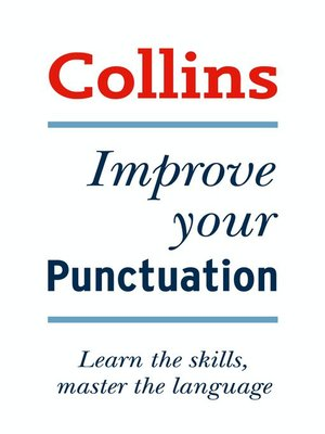 cover image of Collins Improve Your Punctuation