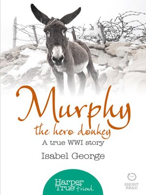 cover image of Murphy the Hero Donkey