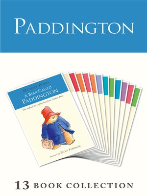 cover image of Paddington Complete Novels