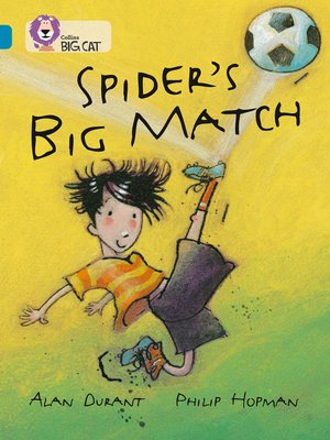 cover image of Spider's Big Match