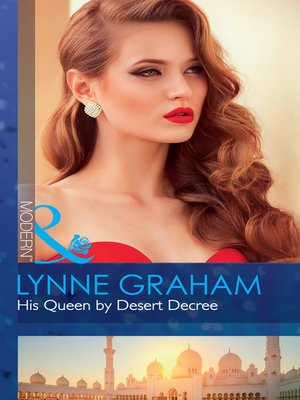 cover image of His Queen by Desert Decree