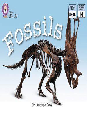 cover image of Collins Big Cat – Fossils