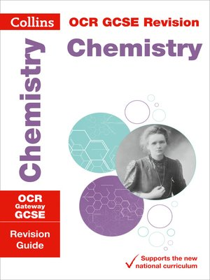 cover image of OCR Gateway GCSE 9-1 Chemistry Revision Guide