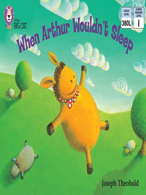 cover image of Collins Big Cat – When Arthur Wouldn't Sleep