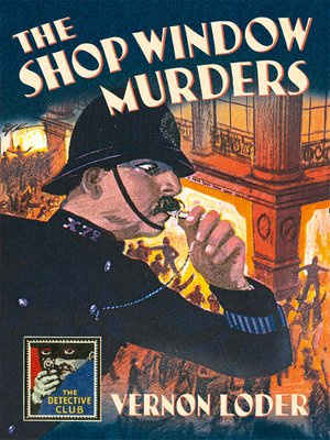 cover image of The Shop Window Murders